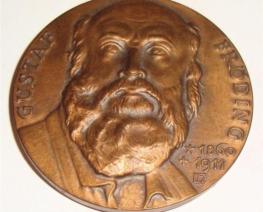 Frödingmedaljen framsida