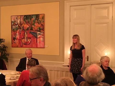 Maja Lagerkvist hänförde publiken med sin sång