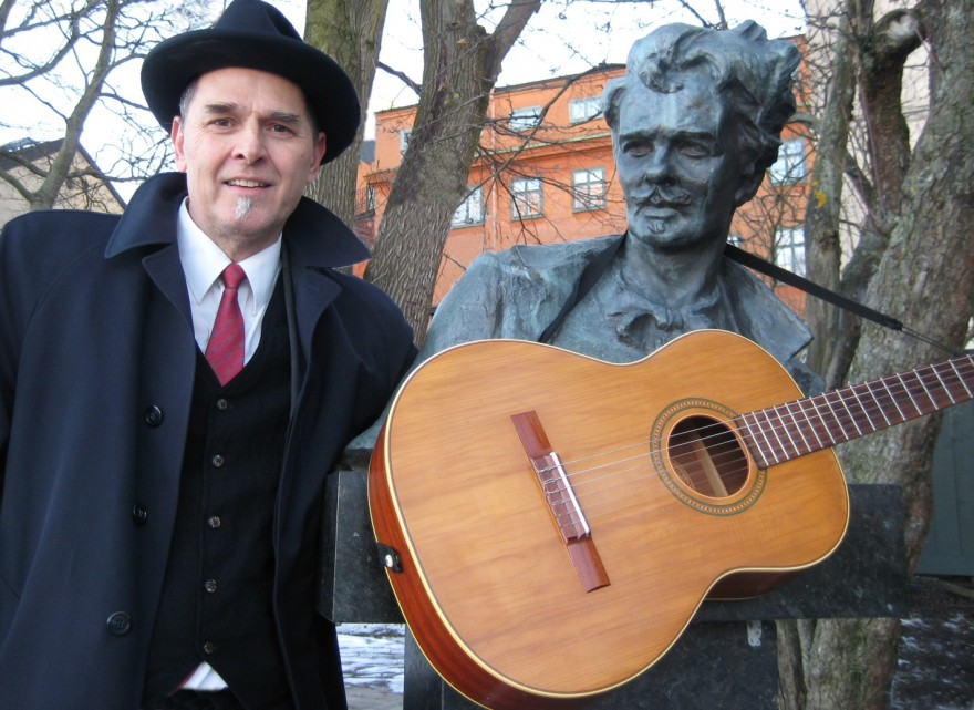 Ted Bjurwill och August Strindberg