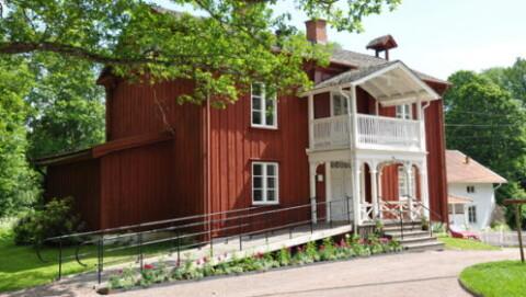 Östra flygeln på Alsters herrgård
